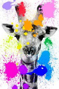 Safari Colors Pop Collection - Giraffe by Philippe Hugonnard