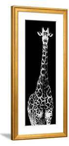 Safari Profile Collection - Giraffe Black Edition IV by Philippe Hugonnard