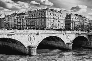 Saint Michel - Pont Neuf Bridge - Paris - France by Philippe Hugonnard
