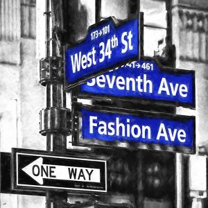 Seventh & Fashion Avenue by Philippe Hugonnard