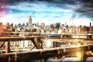 Skyline New York by Philippe Hugonnard