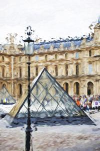 Small Pyramid - In the Style of Oil Painting by Philippe Hugonnard