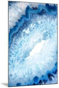 So Pure Collection - Blue Agate Heart by Philippe Hugonnard
