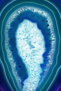 So Pure Collection - Blue Agate Slice by Philippe Hugonnard