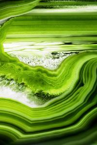 So Pure Collection - Close-up of Green Agate by Philippe Hugonnard