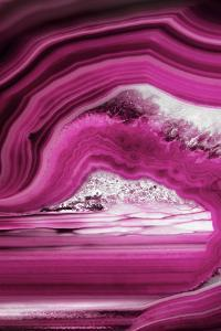 So Pure Collection - Close-up of Pink Agate by Philippe Hugonnard