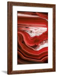 So Pure Collection - Close-up of Red Agate by Philippe Hugonnard