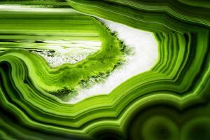 So Pure Collection - Slice of Green Agate by Philippe Hugonnard