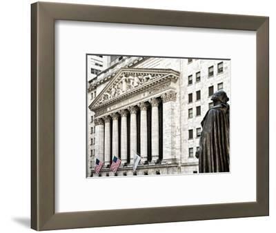Statue of George Washington, New York Stock Exchange Building, Wall Street, Manhattan, NYC