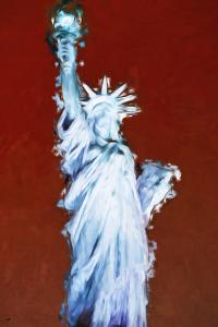 Statue of Liberty IX - In the Style of Oil Painting by Philippe Hugonnard