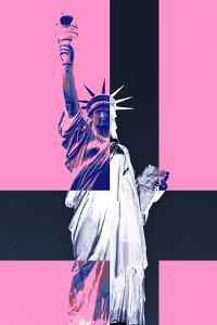 Statue of Liberty - Pop Art - Pink Ladies - New York - United States by Philippe Hugonnard