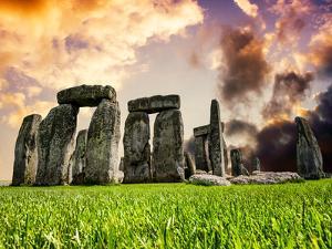 Stonehenge - Historic Wessex - Shrewton - Wiltshire - English Heritage - UK - England by Philippe Hugonnard