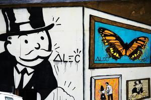 Street Art - Alec - Manhattan - New York - United States by Philippe Hugonnard