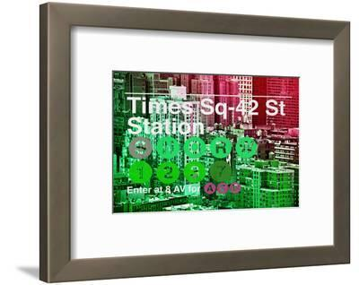Subway and City Art - Times Square - 42 Street Station