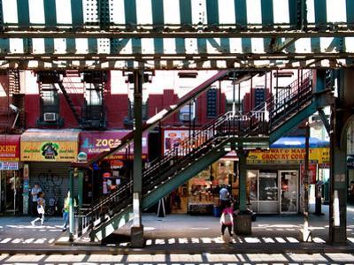 Subway Station, Williamsburg, Brooklyn, New York, United States by Philippe Hugonnard