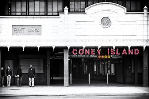 Subway Stations - Coney Island - New York - United States by Philippe Hugonnard