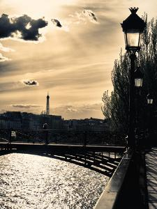 Sunset - Pont des Arts - Paris - France by Philippe Hugonnard