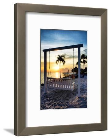 Swing Beach at Sunset