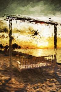 Swinging Chair I - In the Style of Oil Painting by Philippe Hugonnard