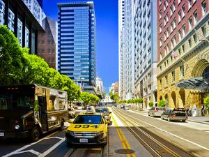 Taxi Cabs - Downtown - San Francisco - Californie - United States by Philippe Hugonnard