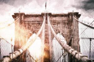 The Brooklyn Bridge by Philippe Hugonnard