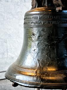 The Liberty Bell, Philadelphia, Pennsylvania, United States by Philippe Hugonnard
