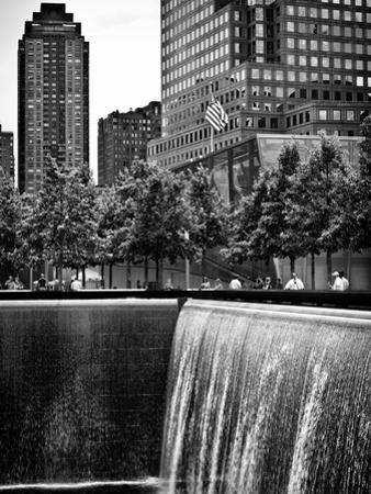 The Memorial Pool at 9/11 Memorial View, 1WTC, Manhattan, New York, USA by Philippe Hugonnard