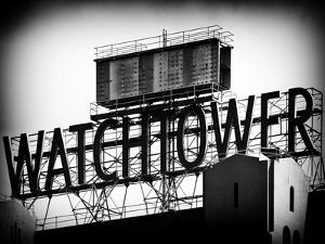 The Watchtower, Jehovah's Witnesses, Brooklyn, Manhattan, New York, Black and White Photography by Philippe Hugonnard