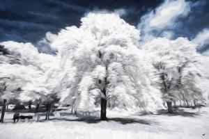 The White Tree - In the Style of Oil Painting by Philippe Hugonnard