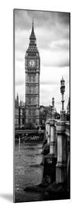 UK Buildings Landscape - Big Ben and Westminster Bridge - London - England - Door Poster by Philippe Hugonnard