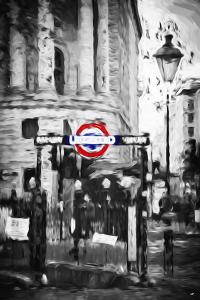 Underground II - In the Style of Oil Painting by Philippe Hugonnard