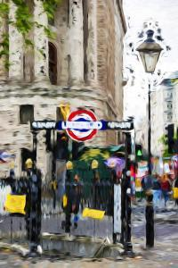 Underground - In the Style of Oil Painting by Philippe Hugonnard