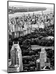 Uptown Manhattan and Central Park from the Viewing Deck of Rockefeller Center, New York by Philippe Hugonnard