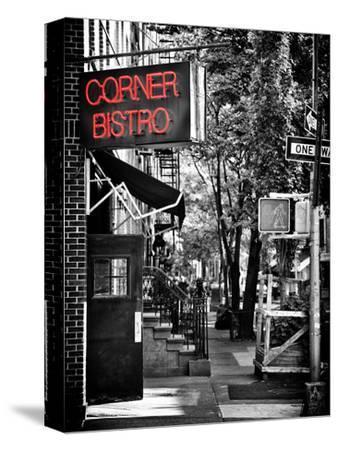 Urban Scene, Corner Bistro, Meatpacking and West Village, Manhattan, New York