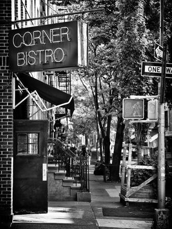 Urban Scene, Corner Bistro, Meatpacking and West Village, Manhattan, New York