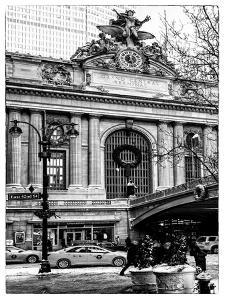 Urban Scene in Winter by Philippe Hugonnard