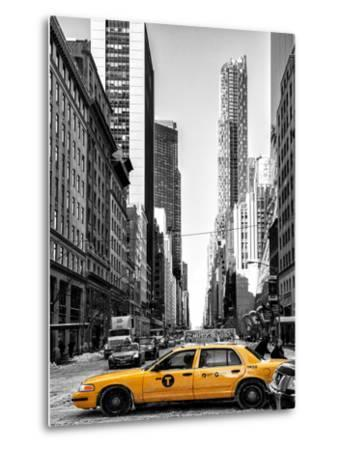 Urban Scene with Yellow Taxis