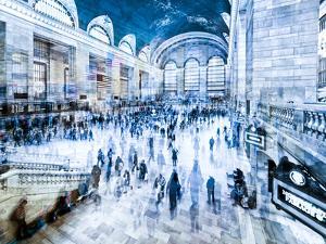 Urban Vibrations Series, Fine Art, Grand Central Terminal, Manhattan, New York City, United States by Philippe Hugonnard