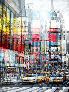 Urban Vibrations Series, Fine Art, Times Square, Manhattan, New York City, United States by Philippe Hugonnard
