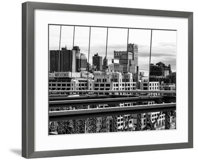 View of Brooklyn Bridge of the Watchtower Building