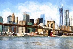 View of Midtown Manhattan by Philippe Hugonnard