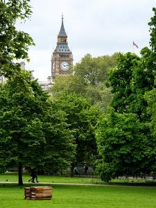 View of St James's Park with Big Ben - London - UK - England - United Kingdom - Europe by Philippe Hugonnard