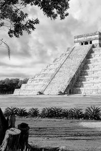 ¡Viva Mexico! B&W Collection - Chichen Itza Pyramid IV by Philippe Hugonnard