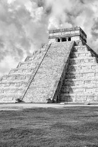 ¡Viva Mexico! B&W Collection - Chichen Itza Pyramid IX by Philippe Hugonnard