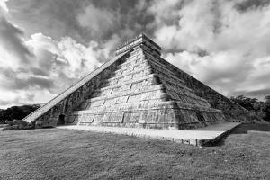 ¡Viva Mexico! B&W Collection - Chichen Itza Pyramid XIX by Philippe Hugonnard