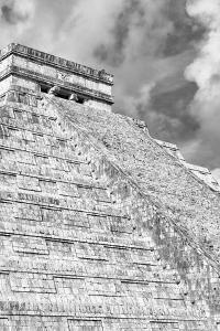 ¡Viva Mexico! B&W Collection - Chichen Itza Pyramid XVI by Philippe Hugonnard