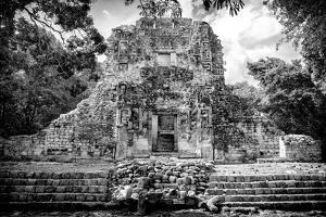 ¡Viva Mexico! B&W Collection - Mayan Ruins IV by Philippe Hugonnard