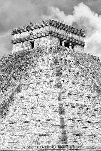 ¡Viva Mexico! B&W Collection - Pyramid Chichen Itza IV by Philippe Hugonnard