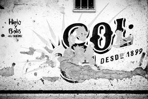 ¡Viva Mexico! B&W Collection - Signs Wall by Philippe Hugonnard