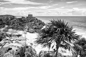 ¡Viva Mexico! B&W Collection - Tulum Riviera Maya III by Philippe Hugonnard
